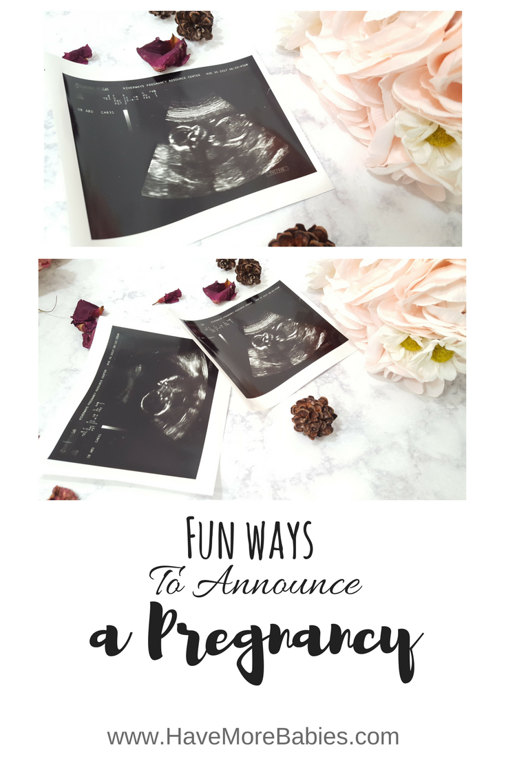 Fun Ways to Announce a New Pregnancy