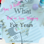 How I Dealt With What Kept Me From Blogging For Years…