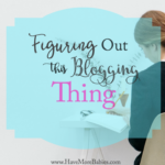 Figuring out this Blogging Thing…