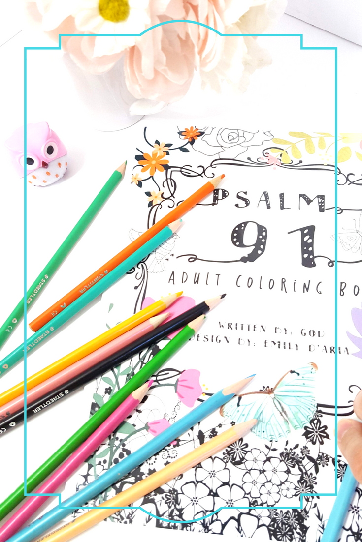 I created this coloring book to fight my fears