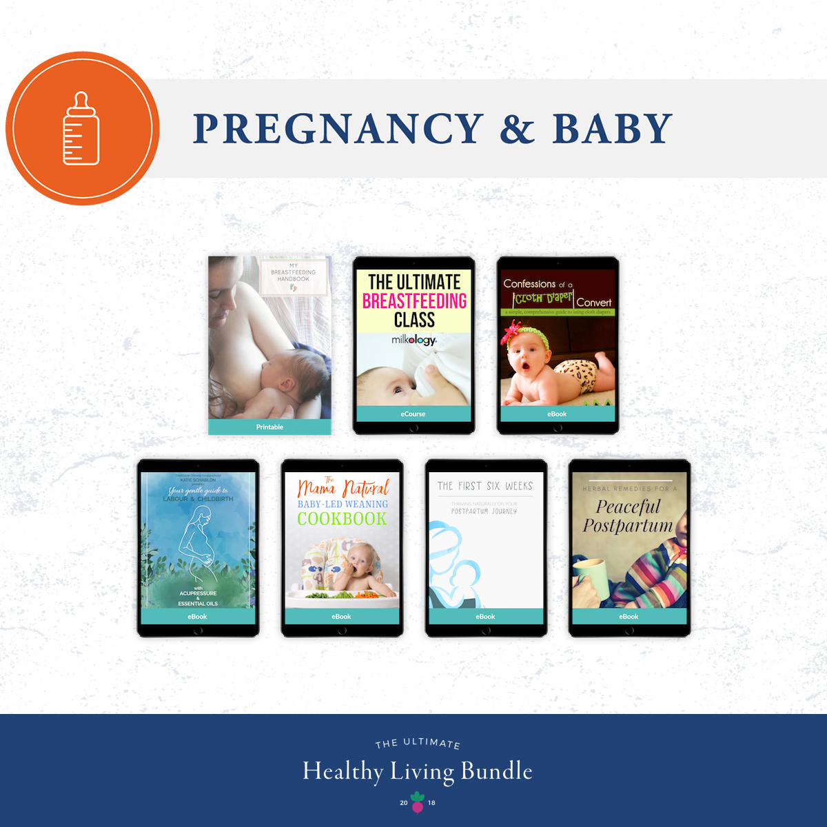 The Ultimate Healthy Living Bundle: Pregnancy & Baby